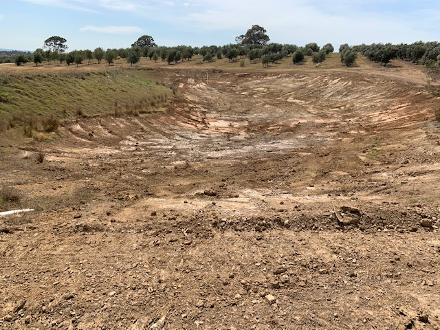 New dam for dry days ahead